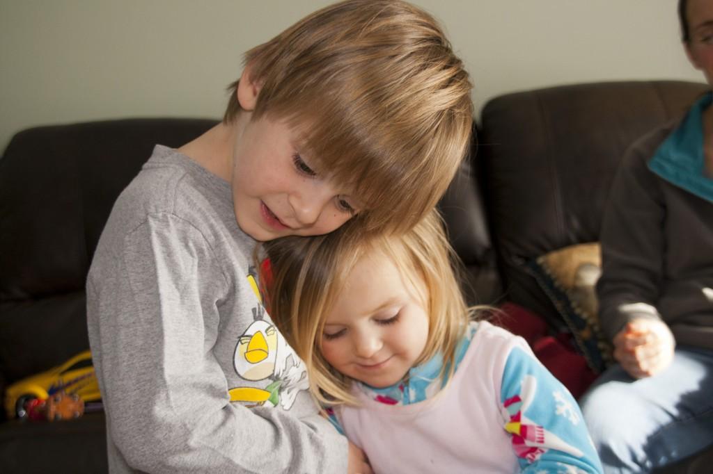 SiblingSnuggle